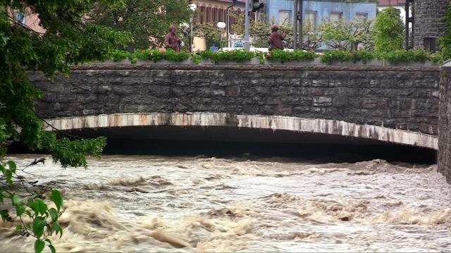 Saalbach Hochwasser
